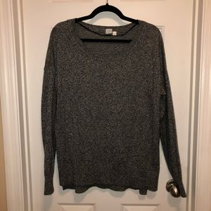 Gap pullover sweater - heather gray — worn once